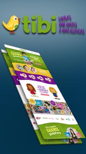 Capa do Produto Sistema Livros infantis Tibi
